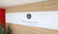 Atlantic Agencement : Office hall